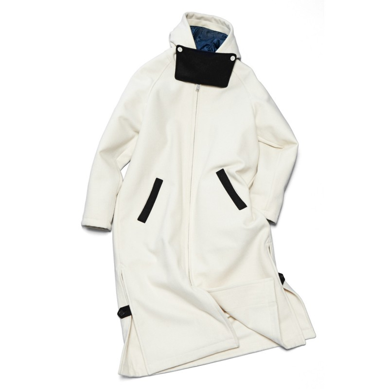 ALL MELTON BENCH COAT