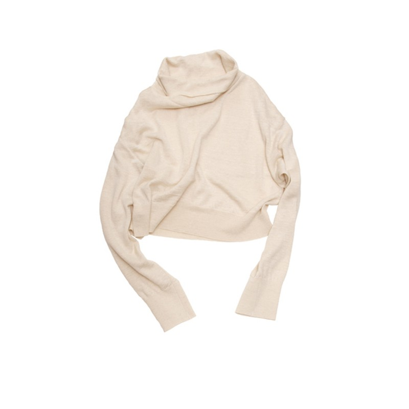Short Highneck Knit(HEMP)