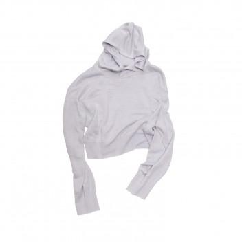 Hooded Short Knit