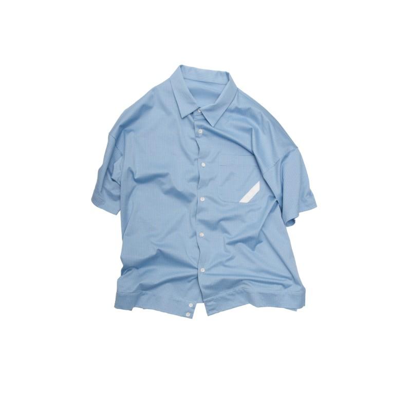 KNIT SHIRT CLOTH SHORT SLEEVE SHIRT