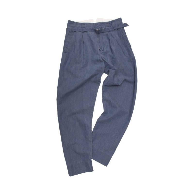 ZOOT TROUSERS(LINEN DENIM)