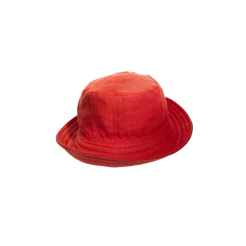 PORKPIE  HAT(LINEN)