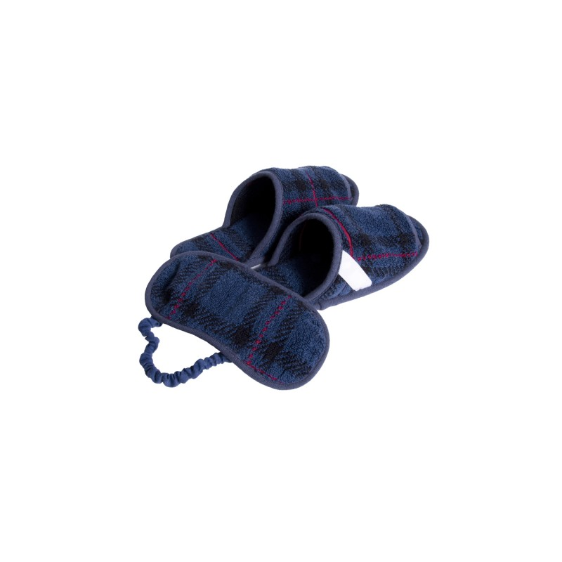TRAVEL PACK (SLIPPER & EYEMASK in PORCH)