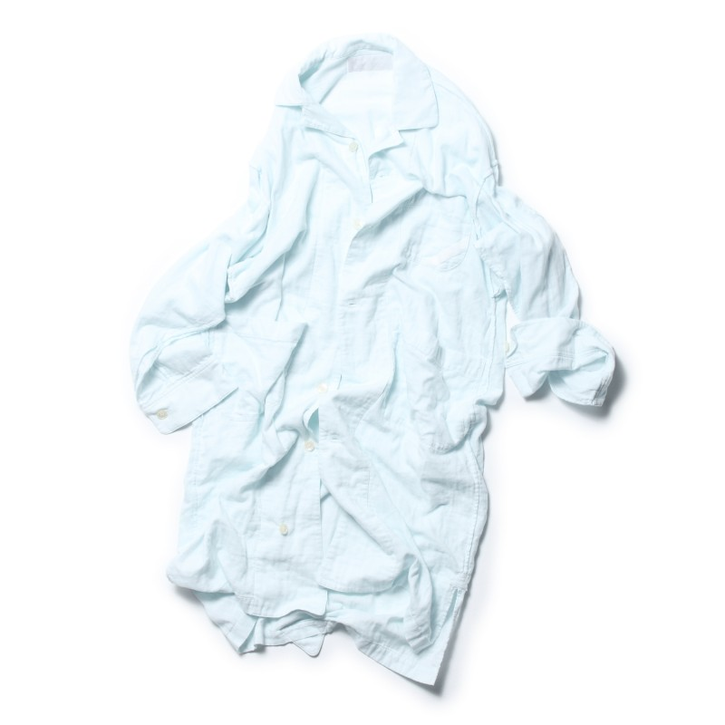 SEAM FREE SHIRT RELAX GAUZE SLEEPER