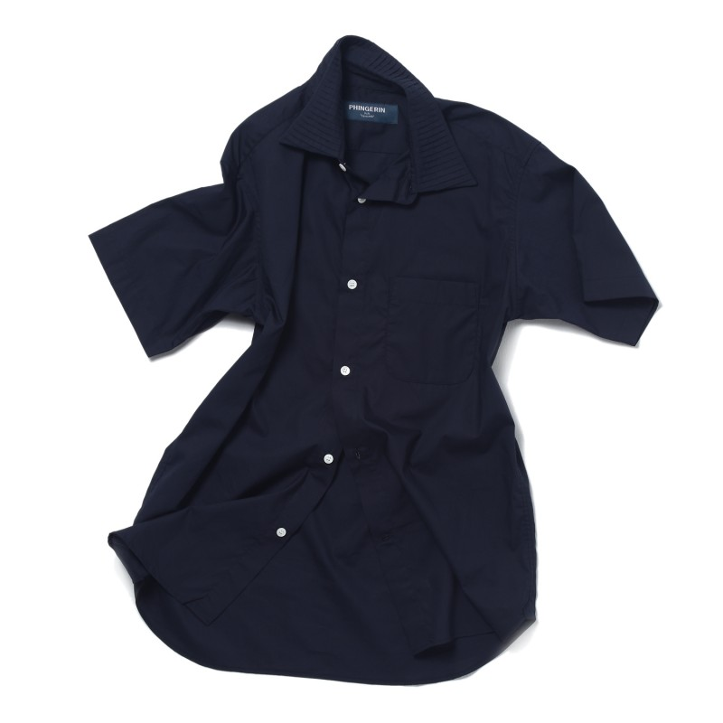 PIN-TACKED COLLAR SHIRT S/SLEEVE