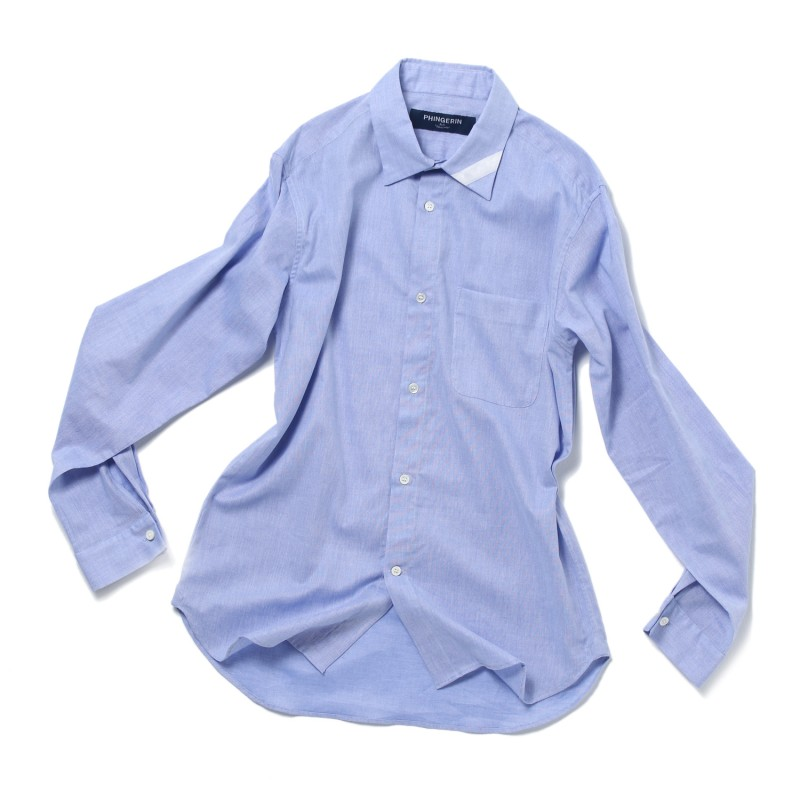 PLAIN COLLAR SHIRT CB CLOTH