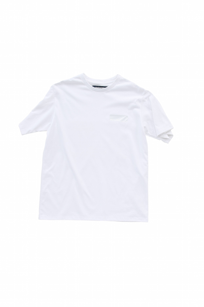 TAPE TEE (CLEAR)