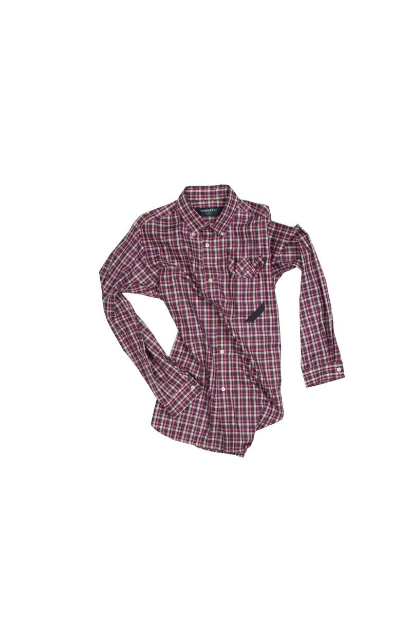 SOUP SHIRT MINI PLAID