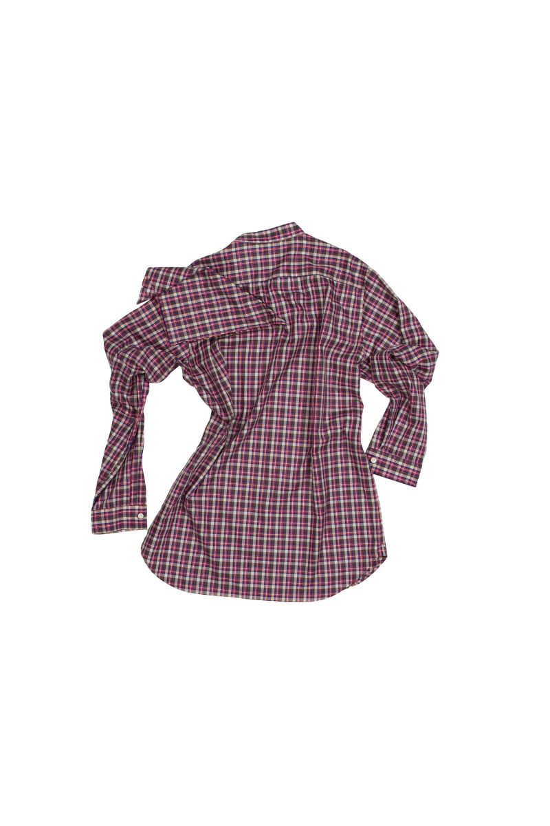 SOUP SHIRT MINI PLAID NC