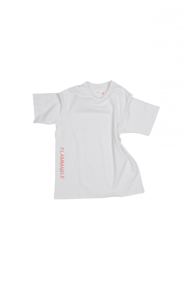 FLAME FLAMMABLE TEE