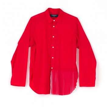 PLEATED SHIRT FP