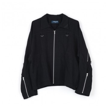 ZIP RUN JACKET LINEN