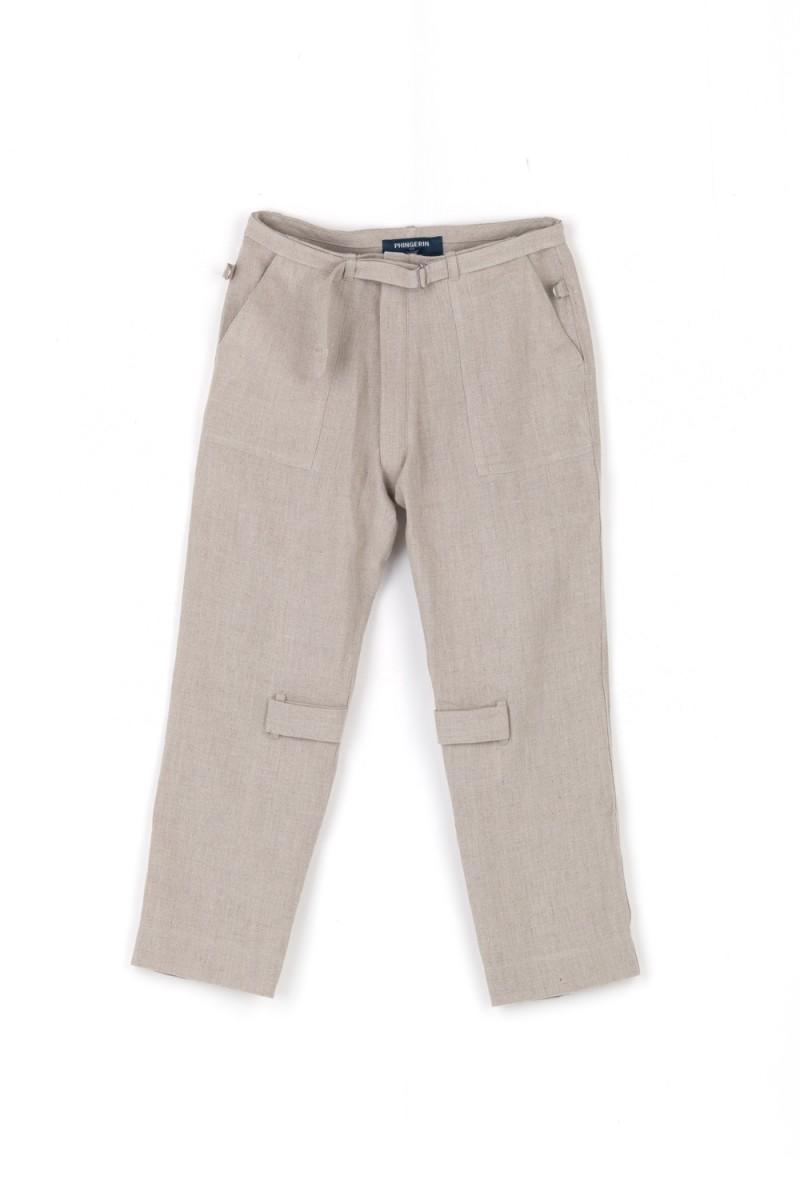 BONTAGE PANTS LINEN