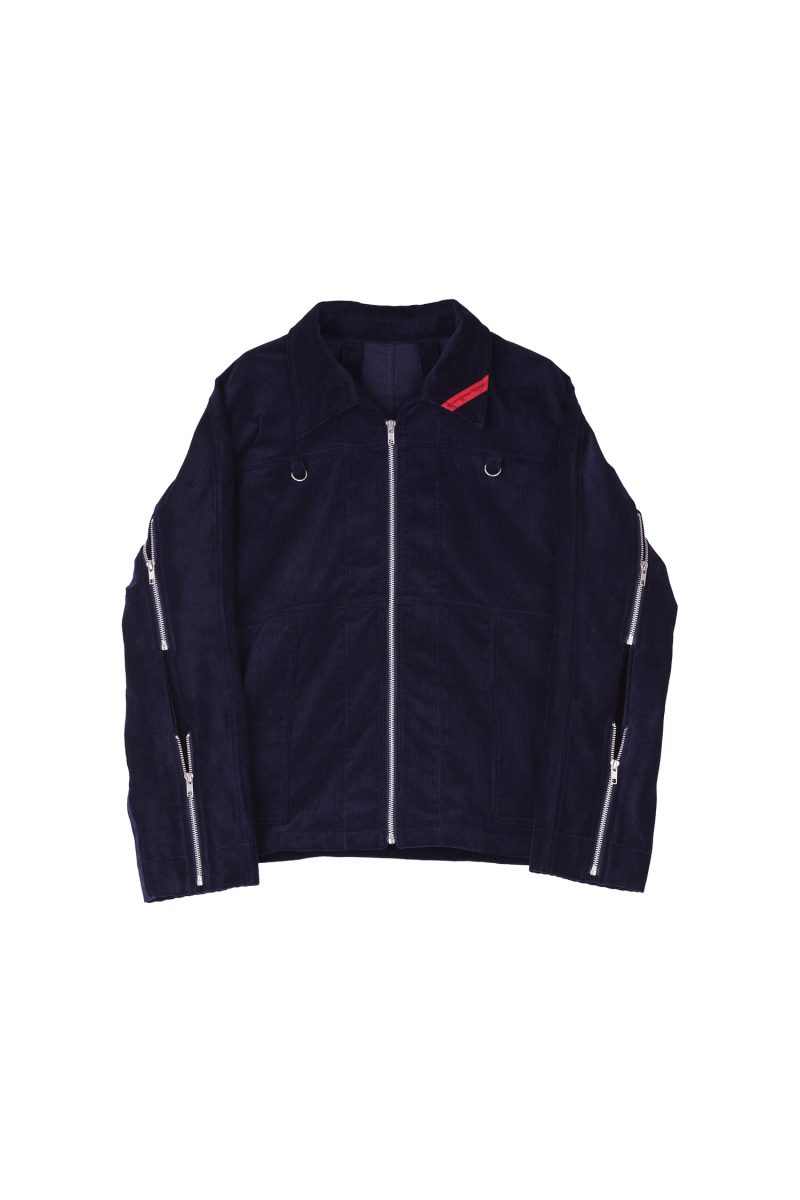 ZIP RUN JACKET CORD