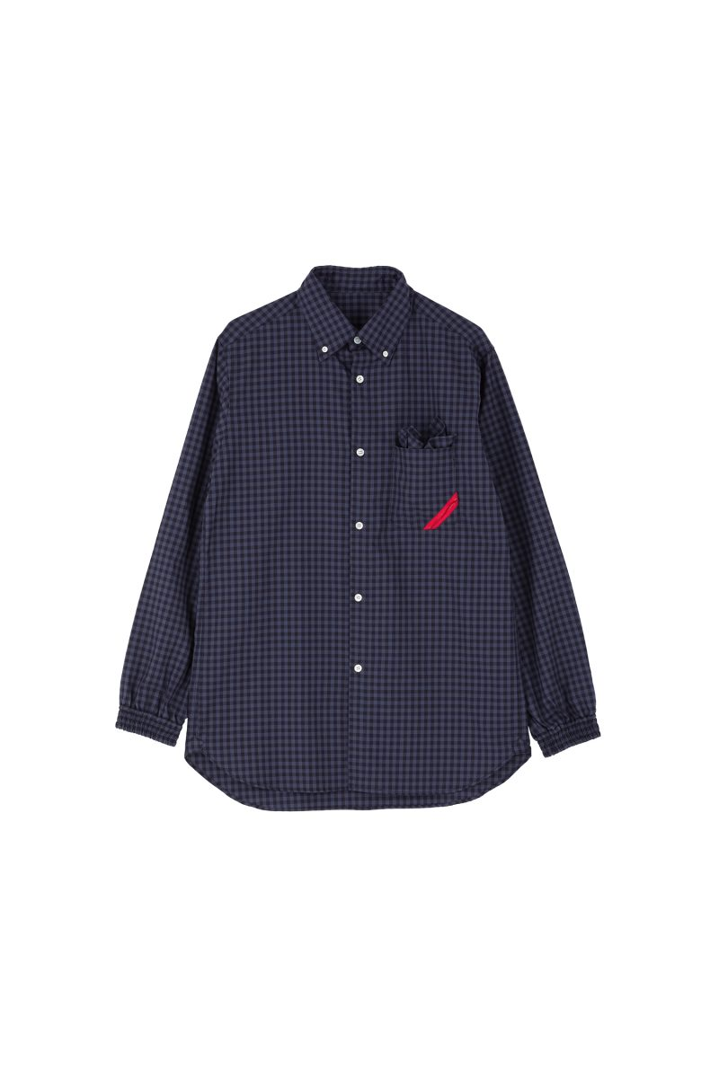 SOUP SHIRT GINGHAM OX