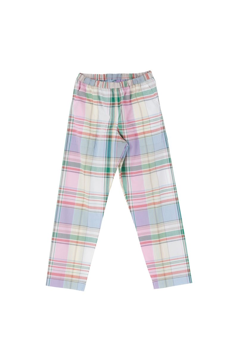 NIGHT PANTS PLAID