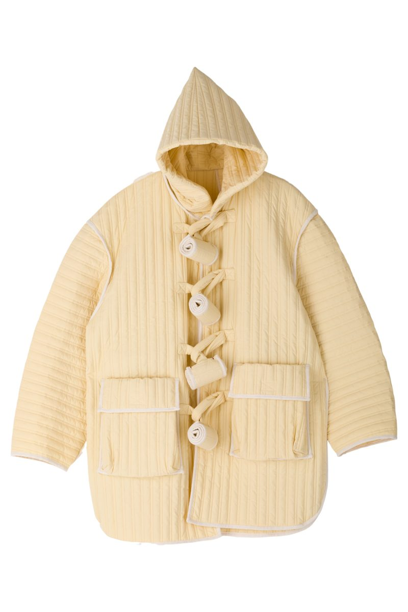 PUFFLE COAT QUILTED