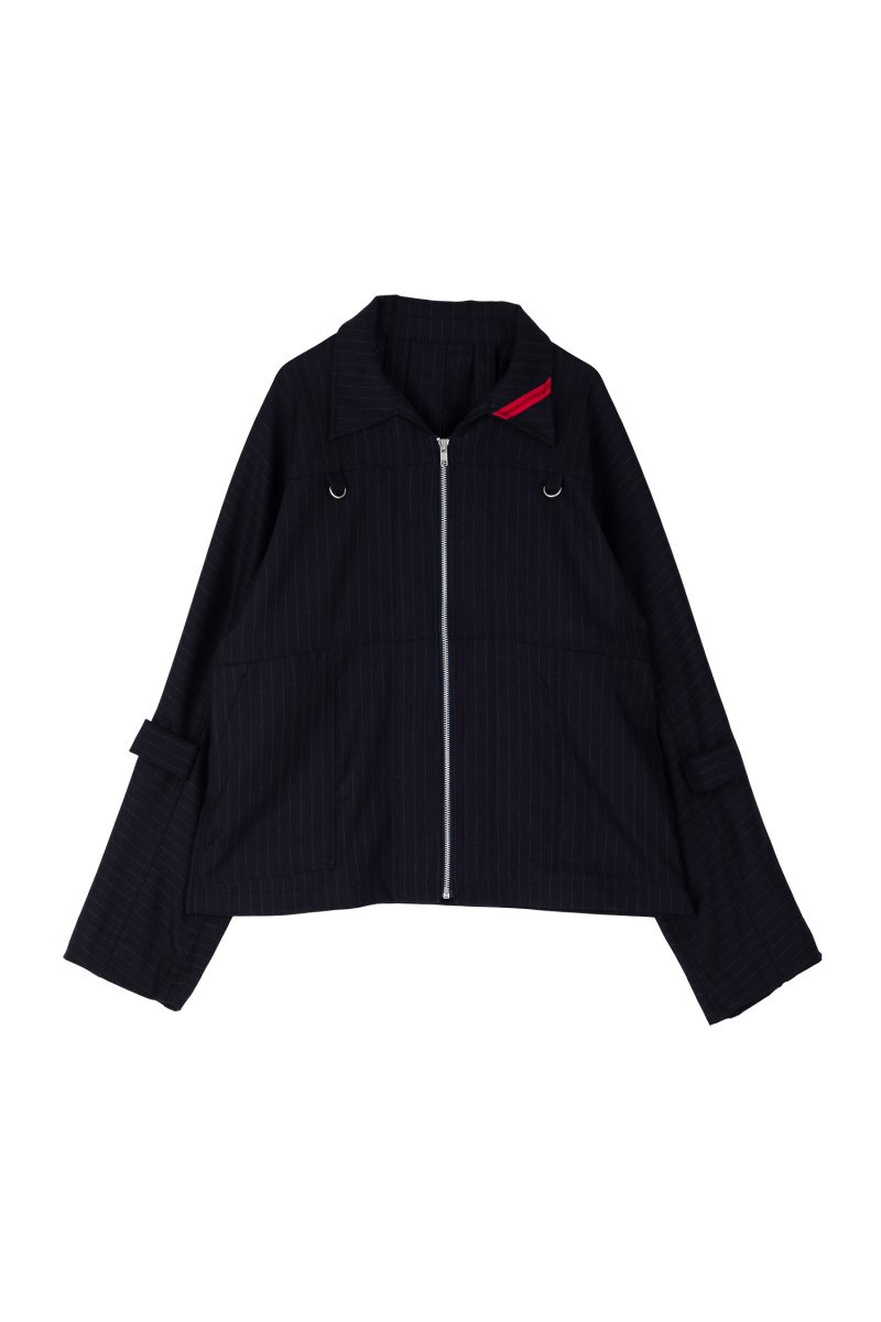 ZIP RUN JACKET WOOL