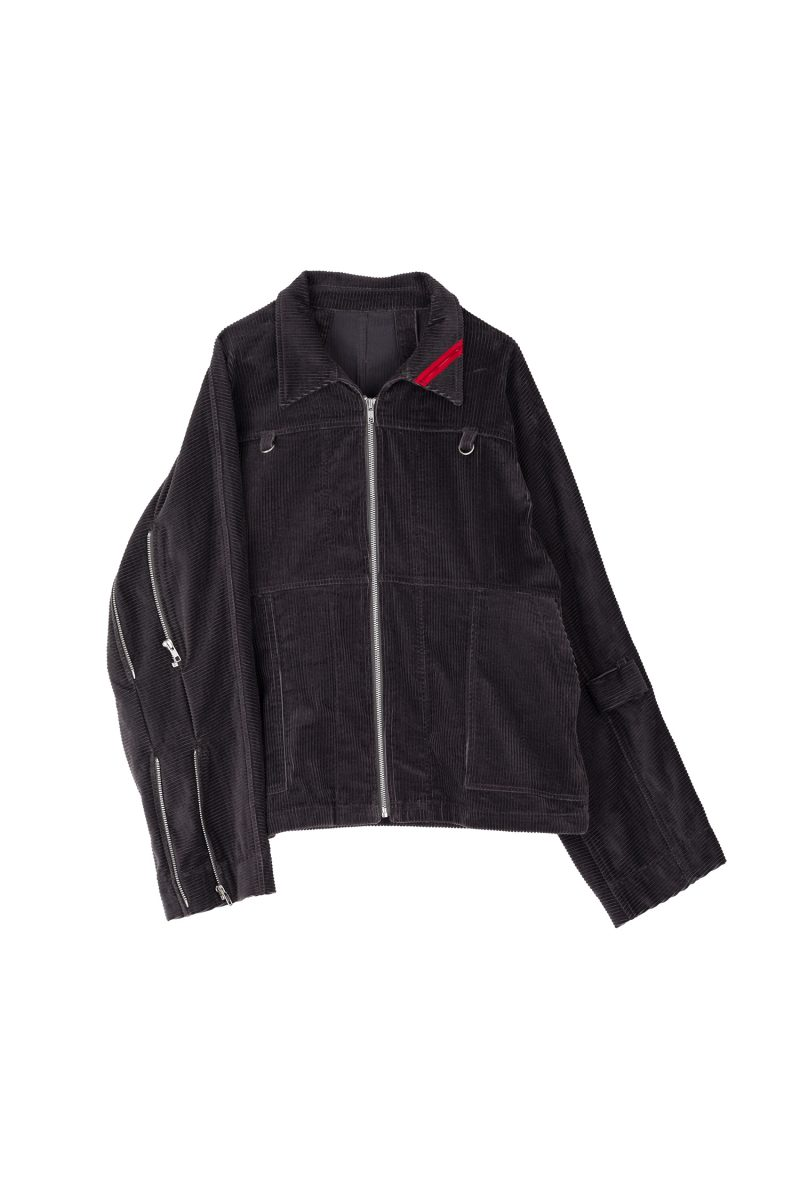 ZIP RUN JACKET SOFT-CORD