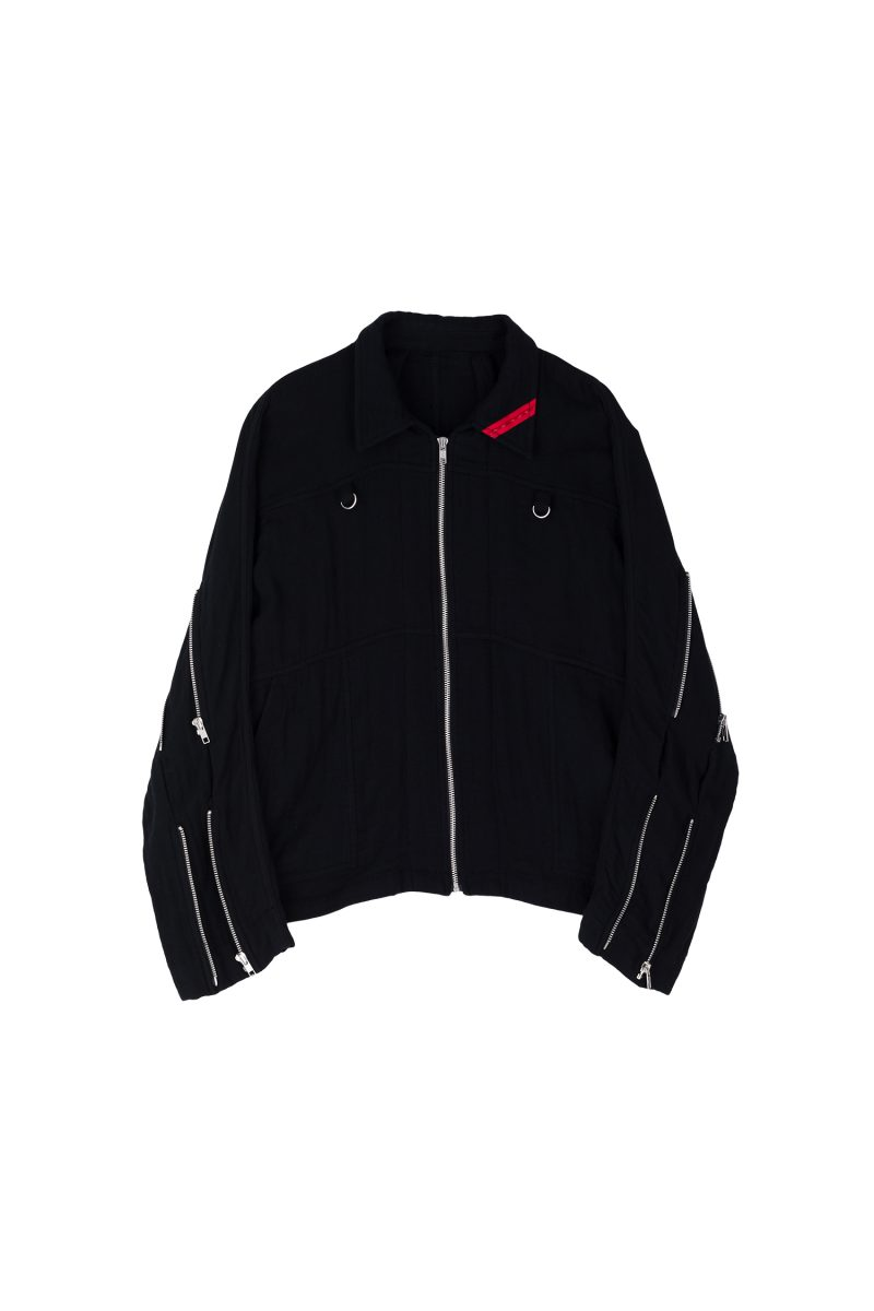 ZIP RUN JACKET GAUZE