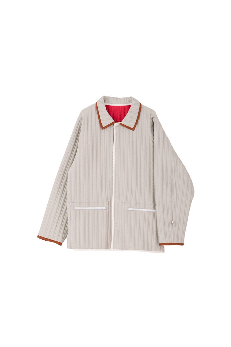 QUILTED SHIRT DOUBLE SIDED
