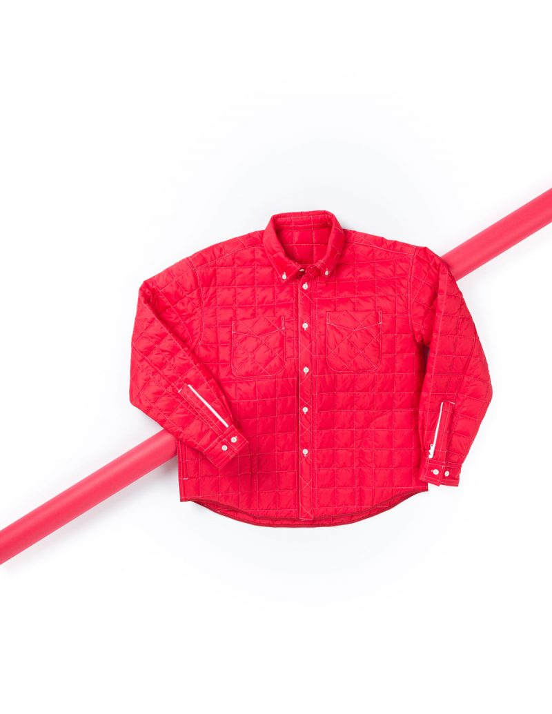 QUILTED SHIRT BD